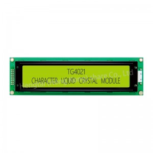 40×4 STN Character LCD display