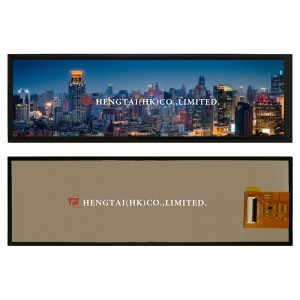 7.8″ 1280*400 Bar Type TFT Display full viewing angle IPScc