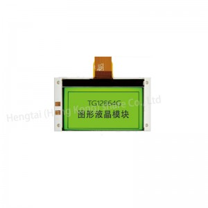 12864 STN positive transflective 6 oclock graphic LCD monochrome display module 3 LED COG IC SPLC501C