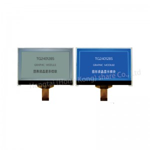 240×128 Graphic STN negative display LCD module