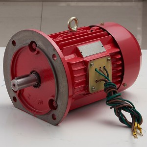 Three-phase asynchronous motor for pipeline pump
