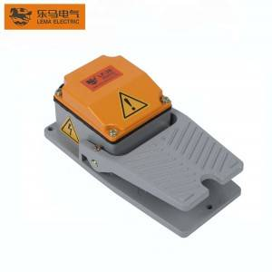Factory price Lema LF-30 15A 250VAC metal foot switch for floor lamps pedal switch