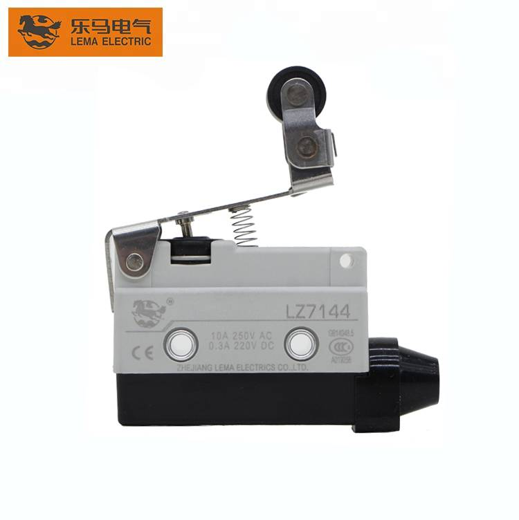 China Wholesale Crane Limit Switch Types Quotes –  Lema LZ7144 short one-way roller lever rotary heavy duty limit switch 10a 250vac – Lema