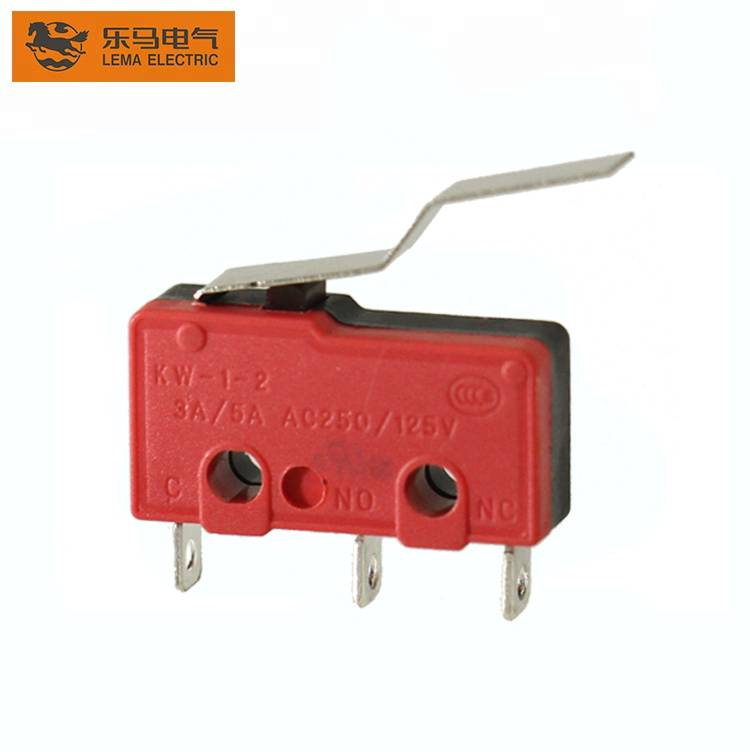 Wholesale Lema KW12-4 bent lever electric mini micro switch t85 5e4