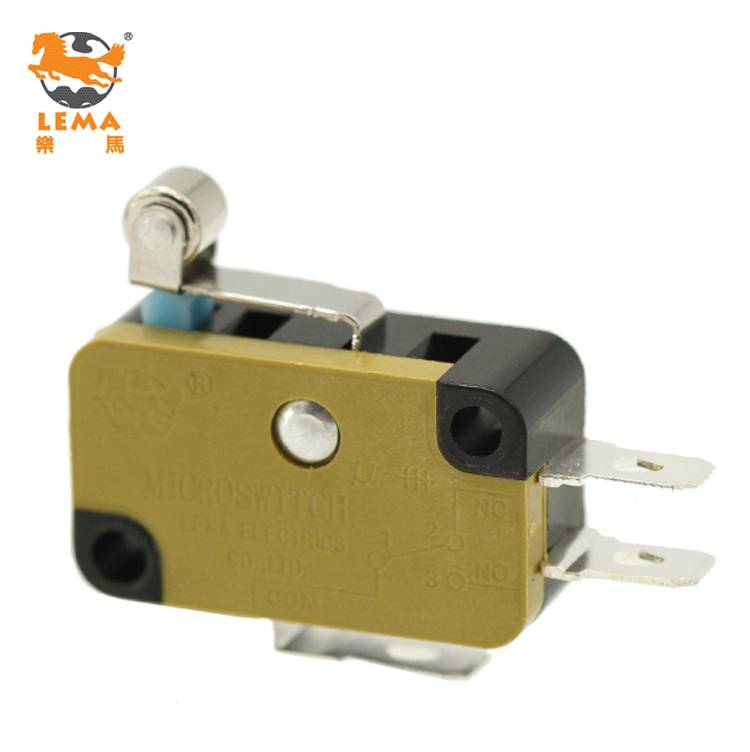 KW7N-3T LEMA Short Roller Lever CCC CE UL VDE Approved SPDT Micro Switch
