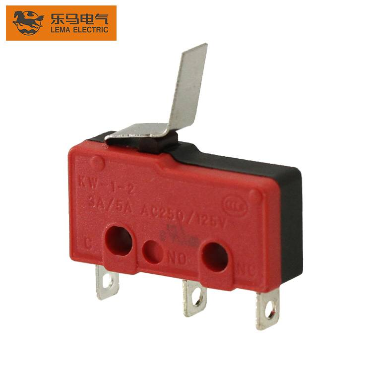 Lema KW12-14 lever subminiature micro switch 5a 250vac lever microswitch