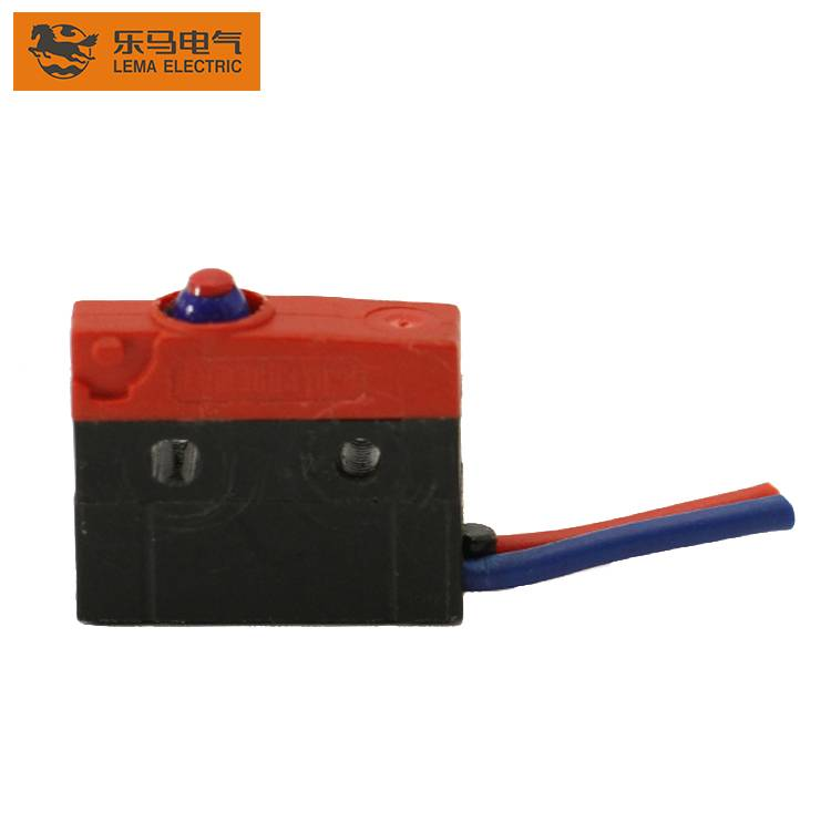 Lema KW12F-0CEX normally open waterproof micro switch kw3 oz waterproof micro switch ip67