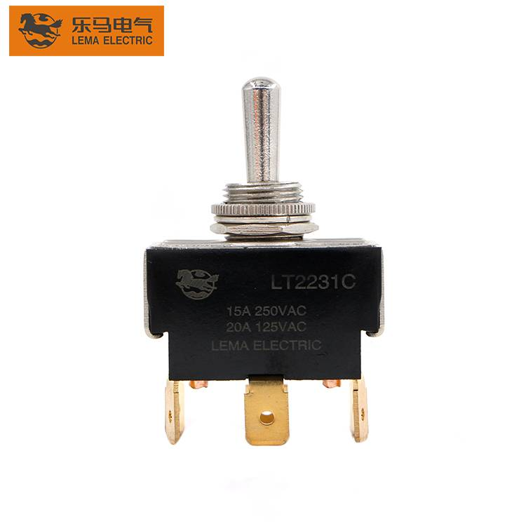 LT2231C 15a  125/250VAC ON-OFF Locking Toggle Switch