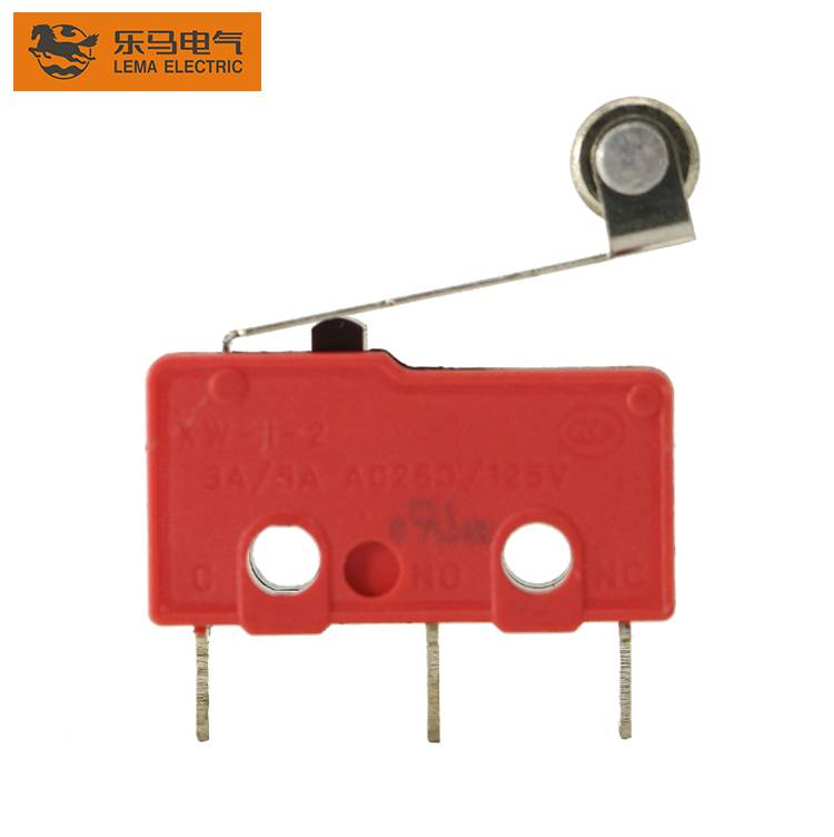 Lema KW12-2S roller lever PCB subminiature micro switch basic micro switch