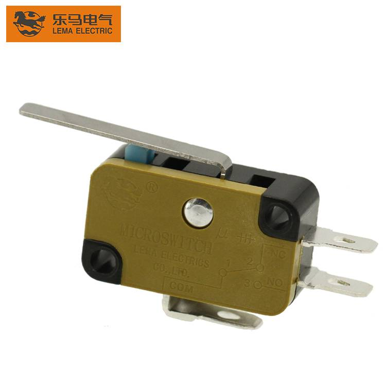 Customized normally close subminiature micro switch electronic switch