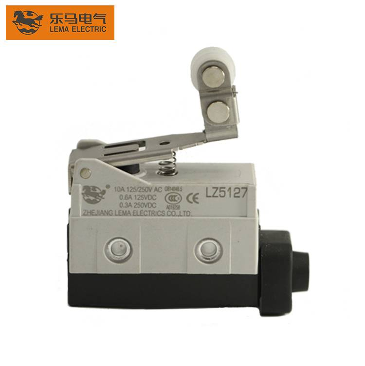 China Wholesale Limit Switch Elevator 250vac Quotes –  Lema 10A 250V LZ5127 short roller lever sealed limit switch ip65 – Lema