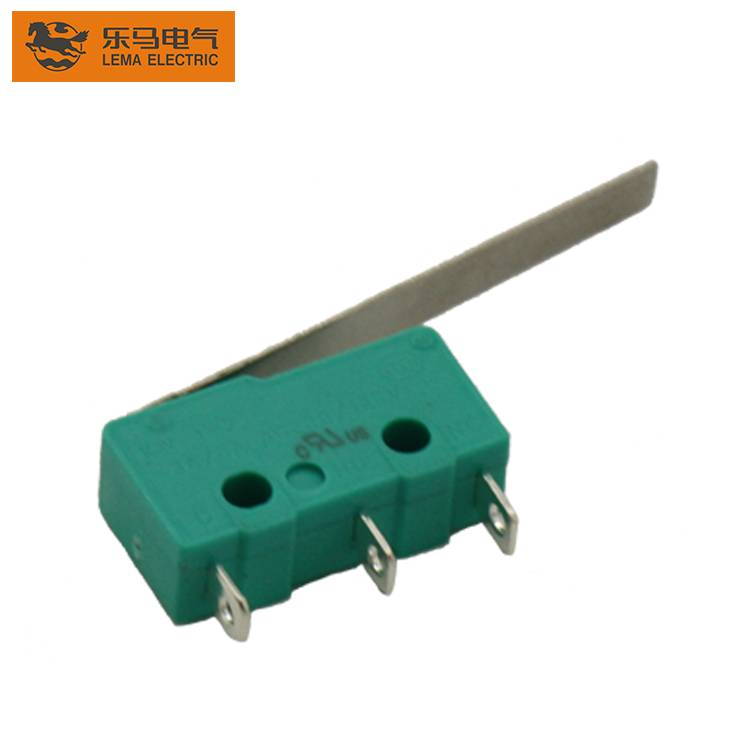 Lema KW12-8 long lever latching micro switch kw11 micro switch