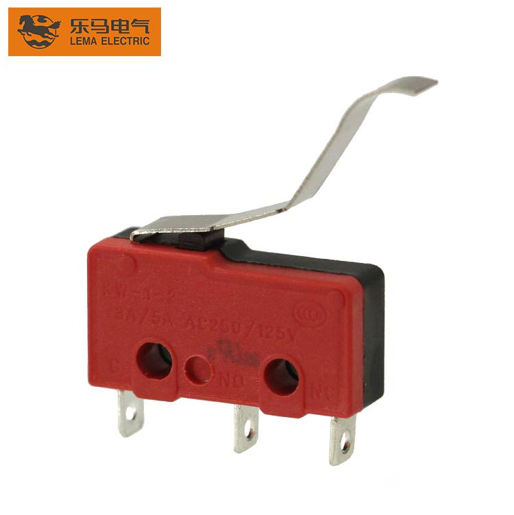 Lema KW12-52 electrical lever sensitive micro switch long lever microswitch