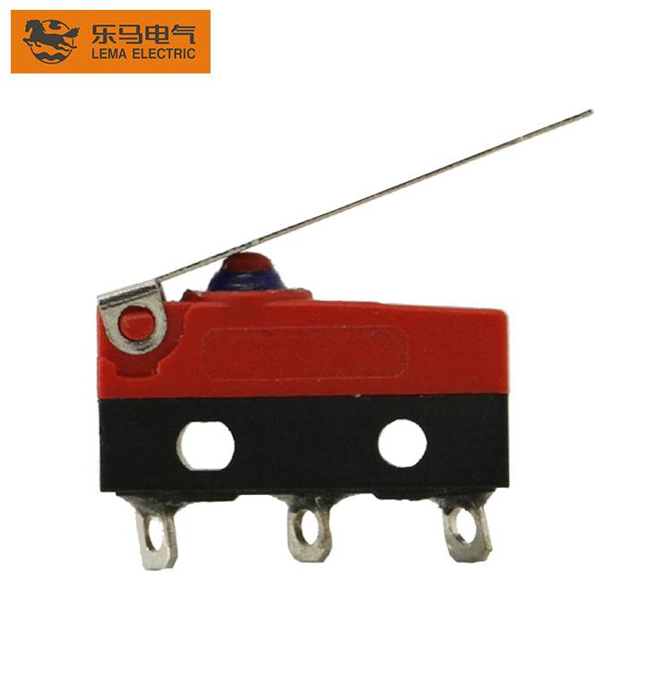 Lema KW12F-8 electric waterproof micro switch lever latching micro switch