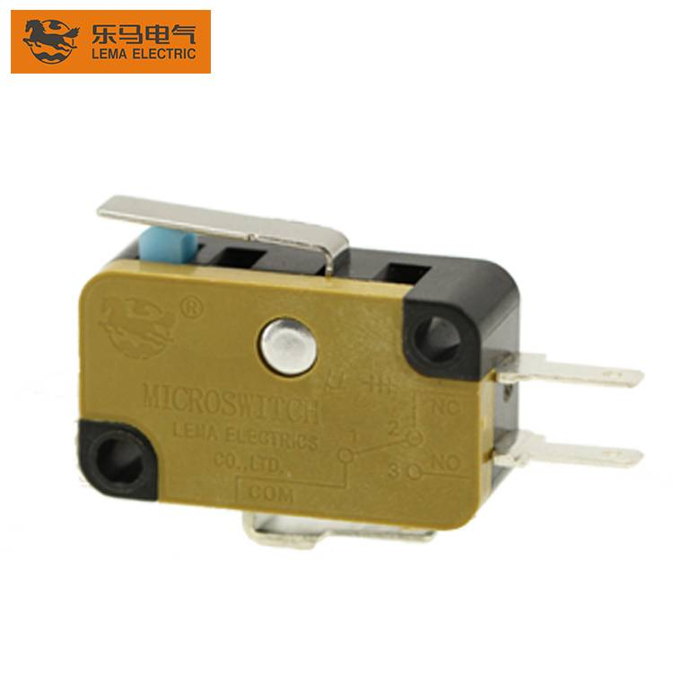 High Quality KW7N-11R 16A 125/250VAC Push Button Subminiature Microswitch
