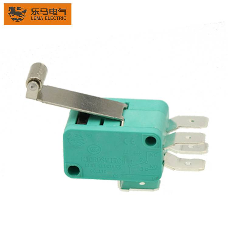 Lema KW7-2II Long Roller Lever 2SPDT Double Micro Switch 20A Electrical Switch