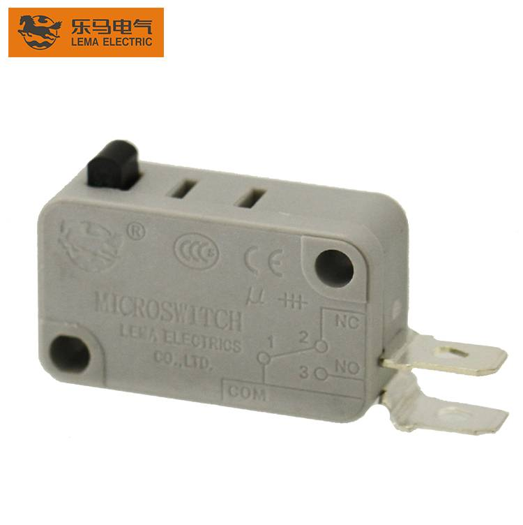 Lema grey KW7-0F side common terminal micro switch 250vac microswitch t105 5e4