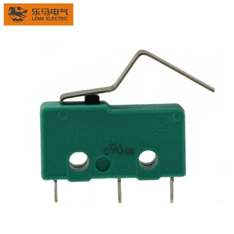 Customized KW12-3 actuator subminiature micro switch for home appliances red green switch