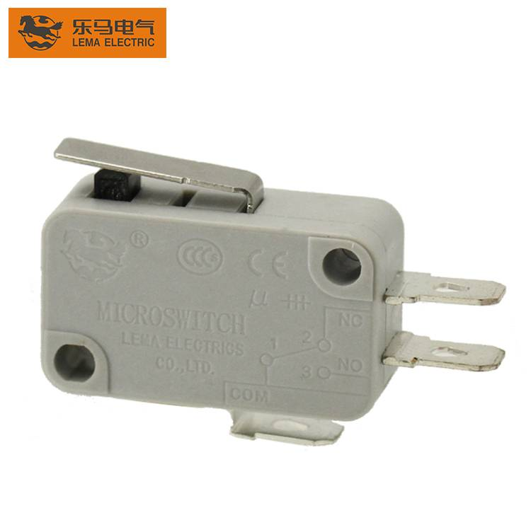KW7-11 China LEMA Factory CE VED Approved Silver Contact Metal Hinge Lever Electrical Mini Micro Switch china micro switch