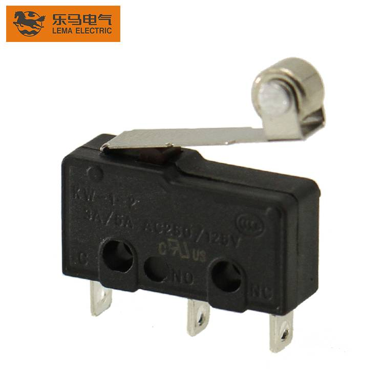 KW12-2 5A roller lever micro mini switch CE CCC
