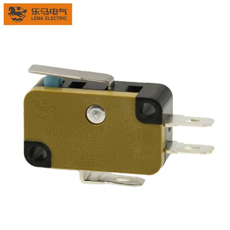 Factory Supply Micro Switch T125 5e4 - Lema KW7N-11T lever micro switch reliability microswitch for purifier – Lema