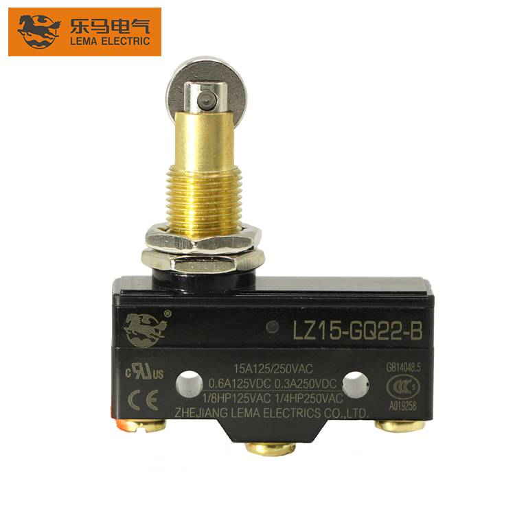 Lema LZ15-GQ22-B panel mount long plunger micro switch electronic micro switch