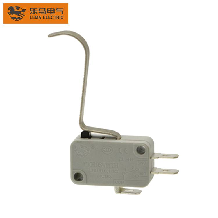 Lema KW7-8 long bent lever sensitive micro switch magnetic microswitch
