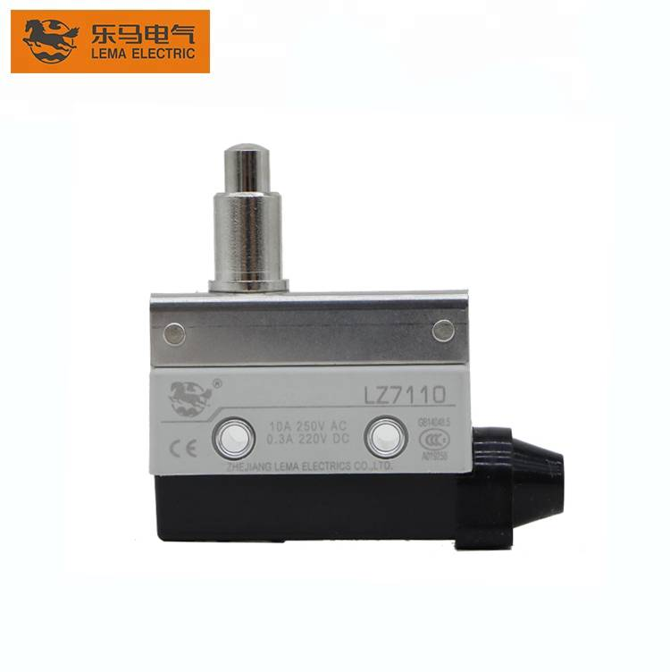 China Wholesale Limit Switch Actuator Suppliers –  Lema LZ7110 short push plunger types of electrical limit switch 5a 250vac limit switch – Lema