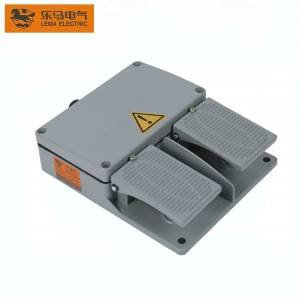 Wholesale LF-60 Press Brake Push Button Foot Switch 250V Hand Switch or Foot Pedal Sewing Machine