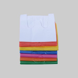 HDPE Plastic Grocery T-Shirt Bag