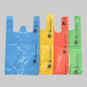 HDPE T-Shirt Grocery Bag In Different Color