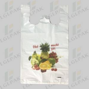 Multi Color Printing Shopping Grocery Bag