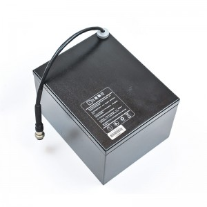 Widely working temperature high durability 12V 60Ah lithium battery pack for online monitoring system