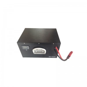 SOC and handle included 36V 40Ah LiFePO4 battery pack for electric scooter / motorcycle / bumper car