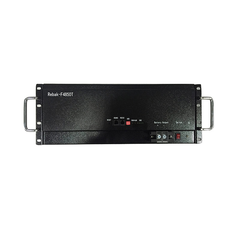 China manufacturer 19 inch rack mounting 48V 50Ah lithium ion battery (LiFePO4) for telecommunication