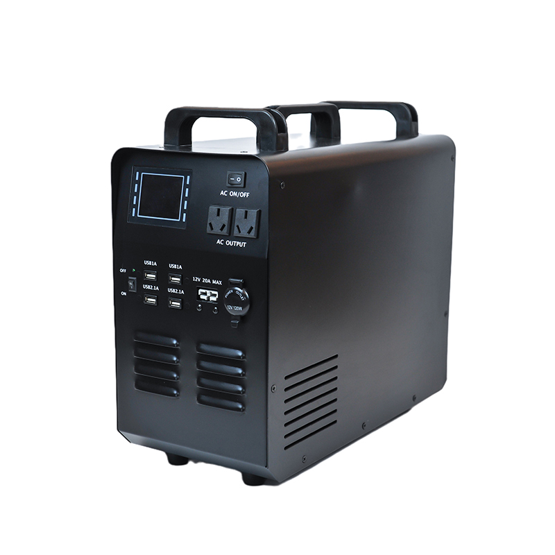 Hot sale multi-functional portable power supply with AC and DC output Featured Image