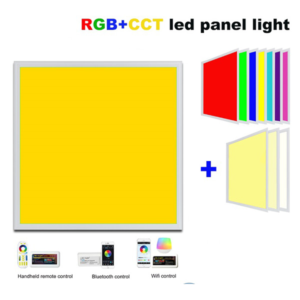20W IP65 RGB+CCT Dimming LED Flat Panel Lamp 30x30cm