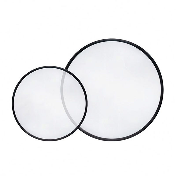 36W 40W Transparent Round LED Ceiling Panel Light 600mm Diameter