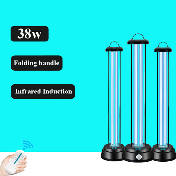 Hot selling 38w Infrared Induction Quartz Ultraviolet UVC Sterilization Sterilizer Germicidal Light Disinfection UV Lamp