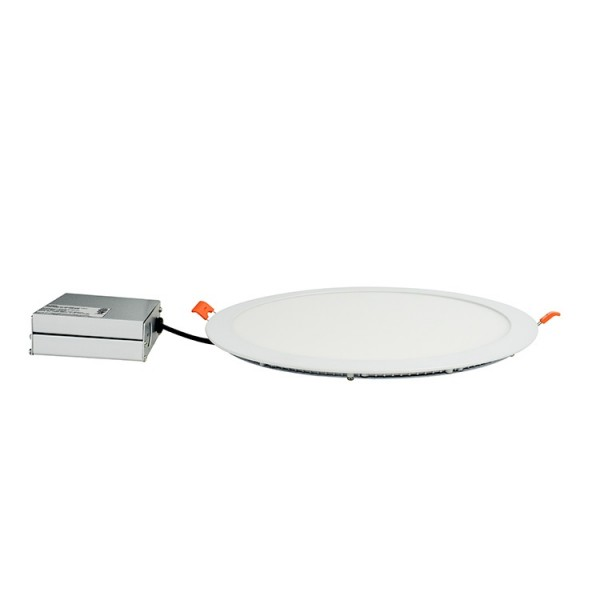 Ultra Slim CRI80 15W UL ETL Round LED Flat Panel Light 8inch