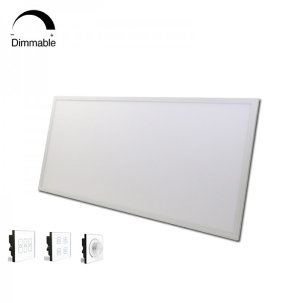 Best Price 80W Square DALI Dimmable LED Panel Light 60×120