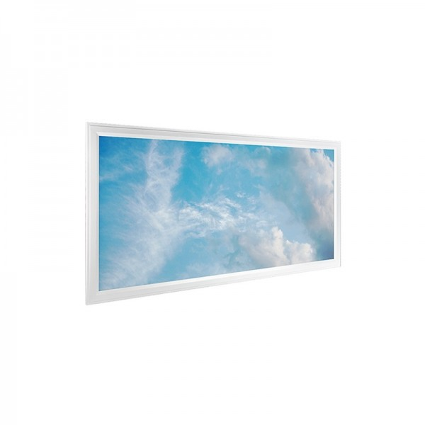 Decorative Hospital Lighting 36W 40W 300×120 LED Sky Panel Lamp 30x120cm