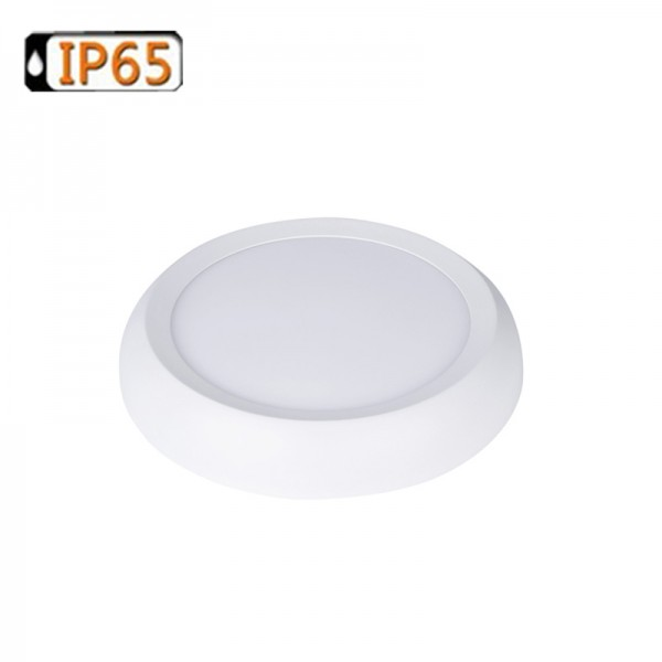 20W 240mm IP65 Water Resistance Surface Mount LED Flat Panel Downlight