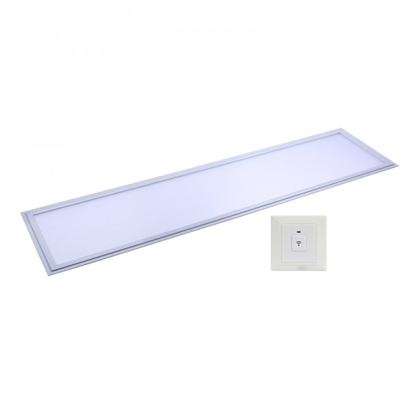 CRI90 40W Recessed Sound &Light Sensor LED Panel Light 30×120