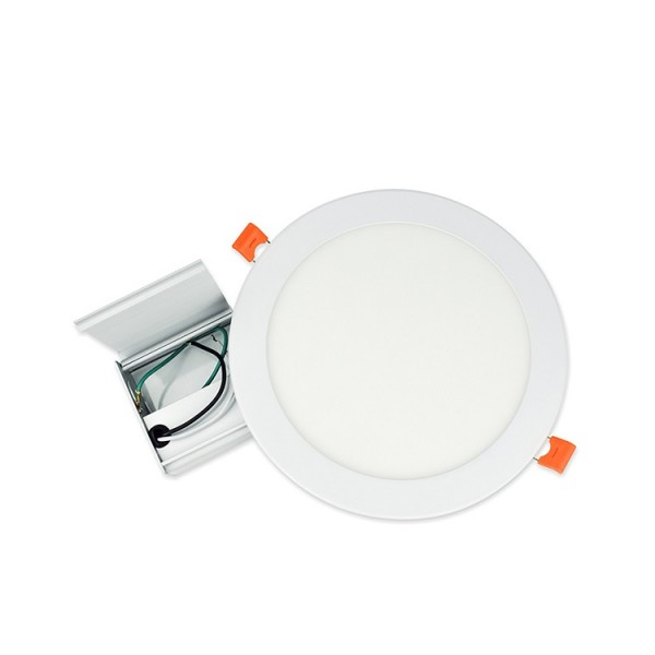 9W 12W UL DLC 6inch Flush Mount Round LED Ceiling Panel Downlight
