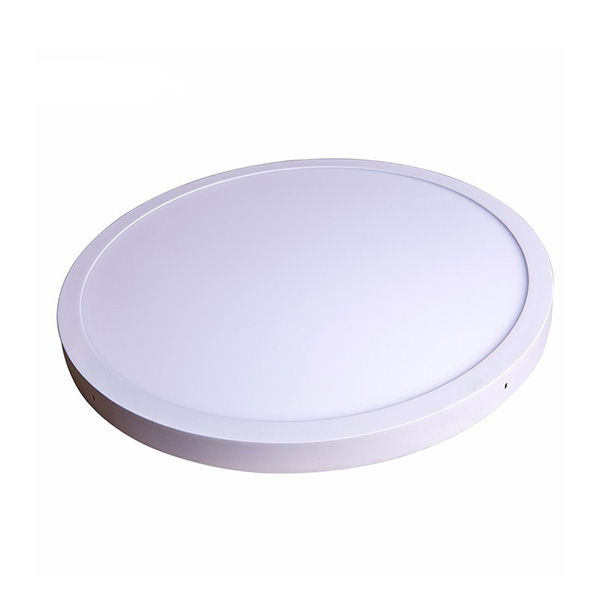 Shenzhen Factory Surface Mount Round LED Ceiling Panel Lamp 500mm