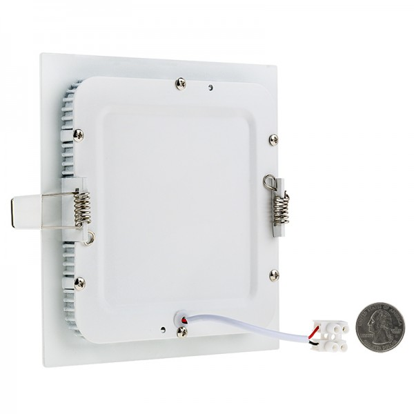 Super Thin 300×300 24W Square Microwave Sensor LED Panel Ceiling Light