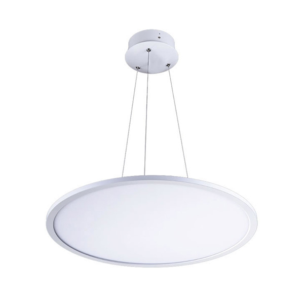 Warm White 48W 500mm Pendant LED Flat Panel Lamp 600mm