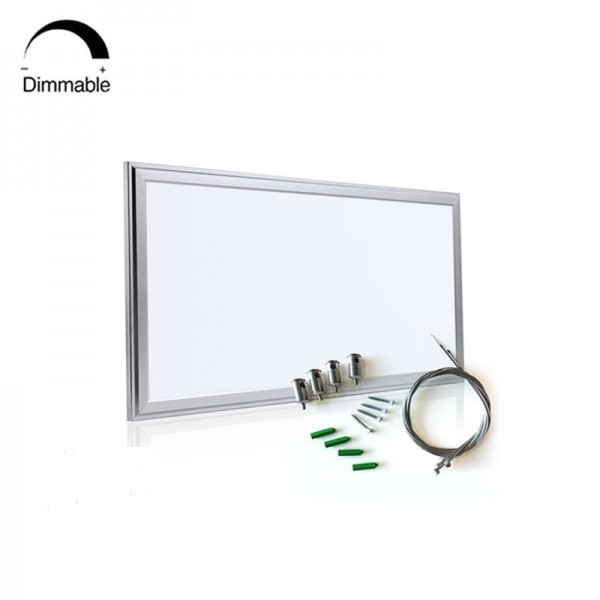 90lm/w Triac Dimmable Square LED Ceiling Panel Light 295×595