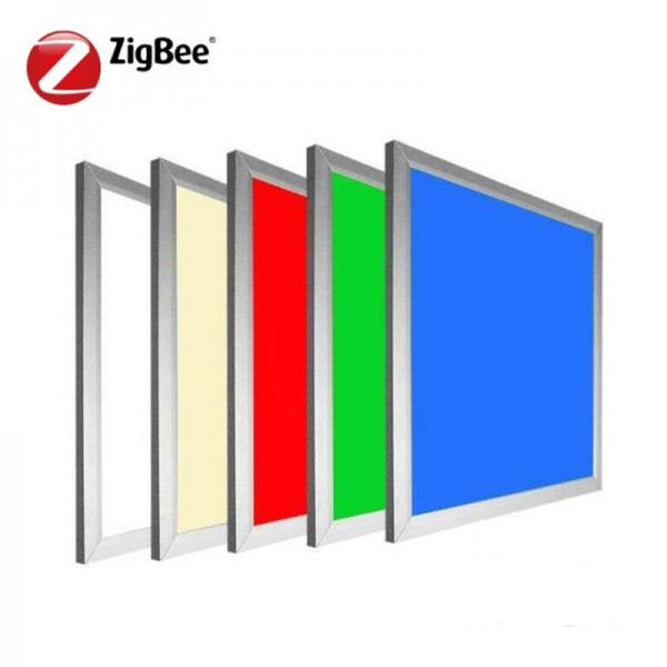 DC24V 48W Zigbee RGB CCT Dimmable LED Flat Panel Light 595×595